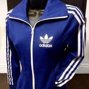 Royal Blue Adidas Jacket